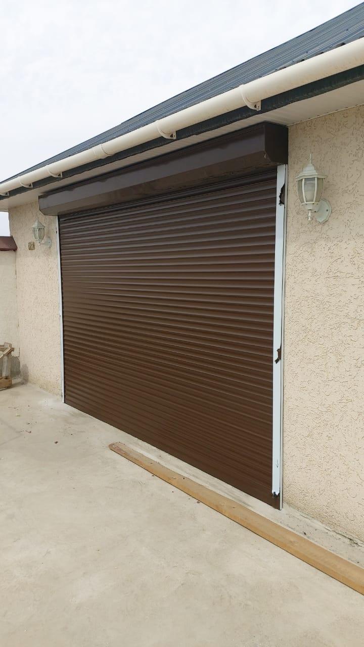 недорогие автоматические ворота в гараж
